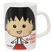 【マグカップ】ちびまる子ちゃん 磁器製ロングマグ/まる子