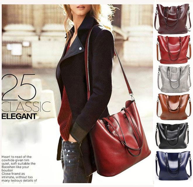 一部即納 ショルダー レザートートバッグ 2way 通勤通学 A4手提げ 肩掛け 斜めがけ PUレザー 鞄 かばん