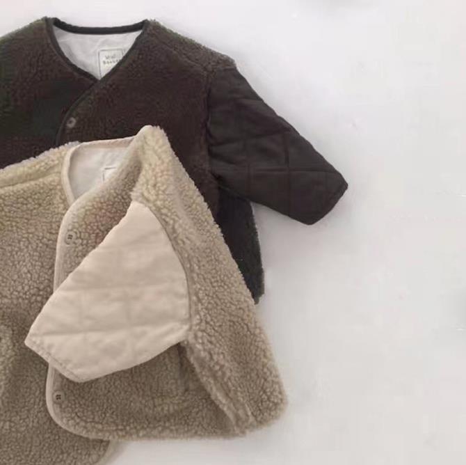 【長納期】コート 冬 80-130 女の子 男の子 厚手 子供服 キッズジャケット