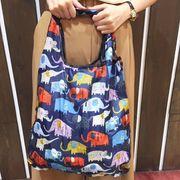 エコバック エコバッグ eco bag 02 お買いものバック アニマル柄 ネコ ふくろう くま ぞう おみやげ