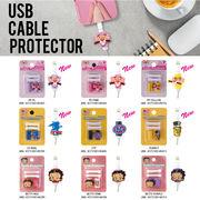 【断線防止】USB CABLE PROTECTOR 【Iphone Android他 充電器対応】