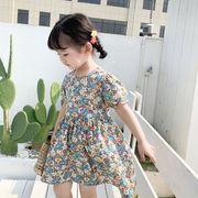 2020早春新作★キッズワンピース★子供服★半袖★女の子★可愛い★ドレス★80-130cm