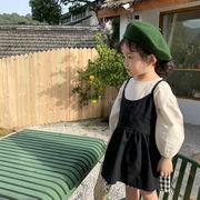 ワンピース+トップス 2点セット プリンセス キッズ 女の子 人気商品 韓国子供服 2020新作 SALE