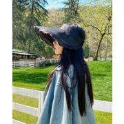 早く買いに来てください  太陽帽子 太陽保護 UV保護 トップレス 大きなつば 漁師の帽子 サイクリング