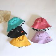 春夏新作 フィッシャーマンハット 子供両面つける帽子  日よけキャップ  UV保護 帽 おしゃれ