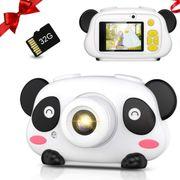 子供用デジタルカメラ キッズカメラ 1080P高画質 トイカメラ 32GBカード付き 録画/撮影 多機能 USB充電式