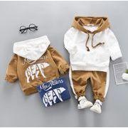 セットアップ 春秋 子供服 シャツ+パンツ 男の子 女の子 2点セット 可愛い カジュアル