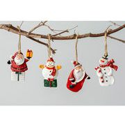 Christmas限定 サンタ 樹脂チャーム ツリー飾り ウォールデコレーション クリスマス飾り 壁
