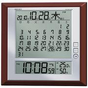 【新品取寄せ品】セイコークロック 電波置掛兼用時計 SQ421B