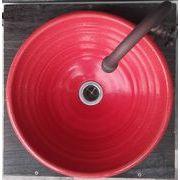 紅釉 31cm 中