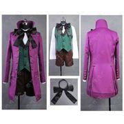 【LUGANO】 黒執事II アロイス・トランシー 豪華版 ・コスプレ衣装衣装完全オーダーメイド