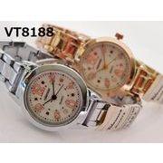 ※新色入荷 VITAROSOレディース腕時計 メタルウォッチ 日本製ムーブメント