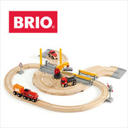 BRIO(ブリオ)レール&ロードクレーンセット