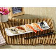 【強化】 長皿(11.5号 長角プレート)   さんま皿/魚皿/おうちカフェ/白食器