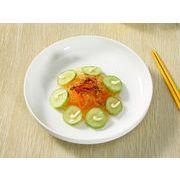 【強化】 サラダ皿(9号)  カレー皿/ おうちカフェ/白食器