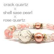 天然石 桜色 spring デザインブレスレット 《SION パワーストーン 天然石》