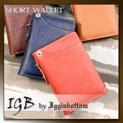 【新作】 IGB-1300 Igginbottom イギンボトムベーシックIGB カードスライダー・縦型短財布