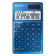 SL-Z1000-BU-N カシオ デザイン電卓 手帳タイプ 10桁 ブルー
