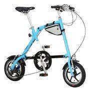 (欠品・入荷未定)NANOO FD-1207 折畳み自転車【ブルー】品番19566【代引き不可】