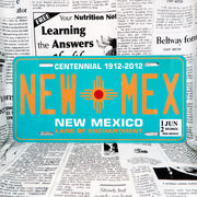 好きな文字にできるアメリカナンバープレート(大・US車用サイズ)ニューメキシコ