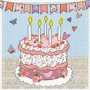 Paper+Design ペーパーナプキン ケーキ