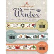 Yano design Natural season Winter 型抜きマスキングテープ ウィンター 日本製