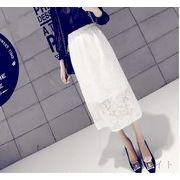 【初回送料無料】ファッションセクシーロングスカート◇ホワイト/ブラック2色♪too-bl6820-183