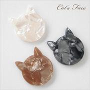 単価99円♪デコパーツ♪プラスチックパーツ♪キャットフェイス♪ネコ/猫/動物