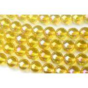 【水晶ゴールデンオーラ】6mm 1連(約38cm)_R1654-6/A6-4