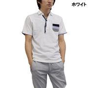 【2017春夏】カノコ カモメプリント スキッパー ポロシャツ