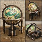 アンティークシャープナー 鉛筆けずり ♪ レトロ  地球儀 ♪