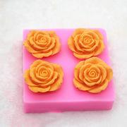 激安☆DIY製菓★フォンダン★チョコ★アロマストーン★モールド★手作り石鹸★キャンディ★薔薇★花