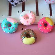 【即納】DIY用デコパーツ 手作りドーナツ可愛い人気パーツ - デコパーツ 手芸 クラフト 生地 材料