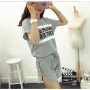 ★即納★ゆったりTシャツ  ショートパンツ2点セット★★シンプル★