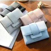 レディースファッション 財布 二つ折り 携帯ラクラク コンパクト オシャレ カワイイ 6色