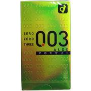 [数量限定] オカモト ゼロゼロスリー003 コンドーム アロエゼリー 10個入