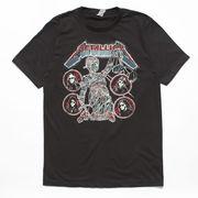 ヴィンテージ風 ロックTシャツ Metallica メタリカ LIVE ON TOUR