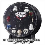 12 FIGURES ALARM CLOCK スター・ウォーズ 4ZEA26MC02