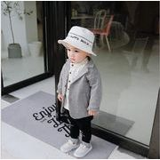 子供 春 子供の服 ジャケット 英国 スタイル ソリッドカラー ジャケット コート ファクトリー