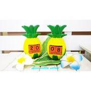 【ハワイアン】パイナップルのコロコロカレンダー