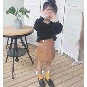 新入荷!!キッズファッション★★PU スカート ★カジュアル