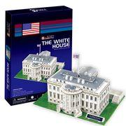 3Dクラフトホワイトハウス