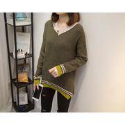秋冬新商品730307 大きいサイズ 韓国 レディース ファッション  セーター パーカー  3L 4L 5L