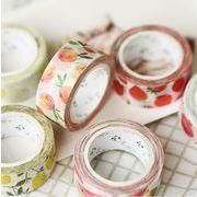 和雑貨 和小物 テープ 手帳 DIY フルーツ 果物 紙テープ