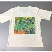 綿100%レディースTシャツ