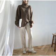 ★限定発売★高品質で★韓国ファッション/ゆったりする/怠惰な風/暖かい/厚手/ニットトップス/セーター