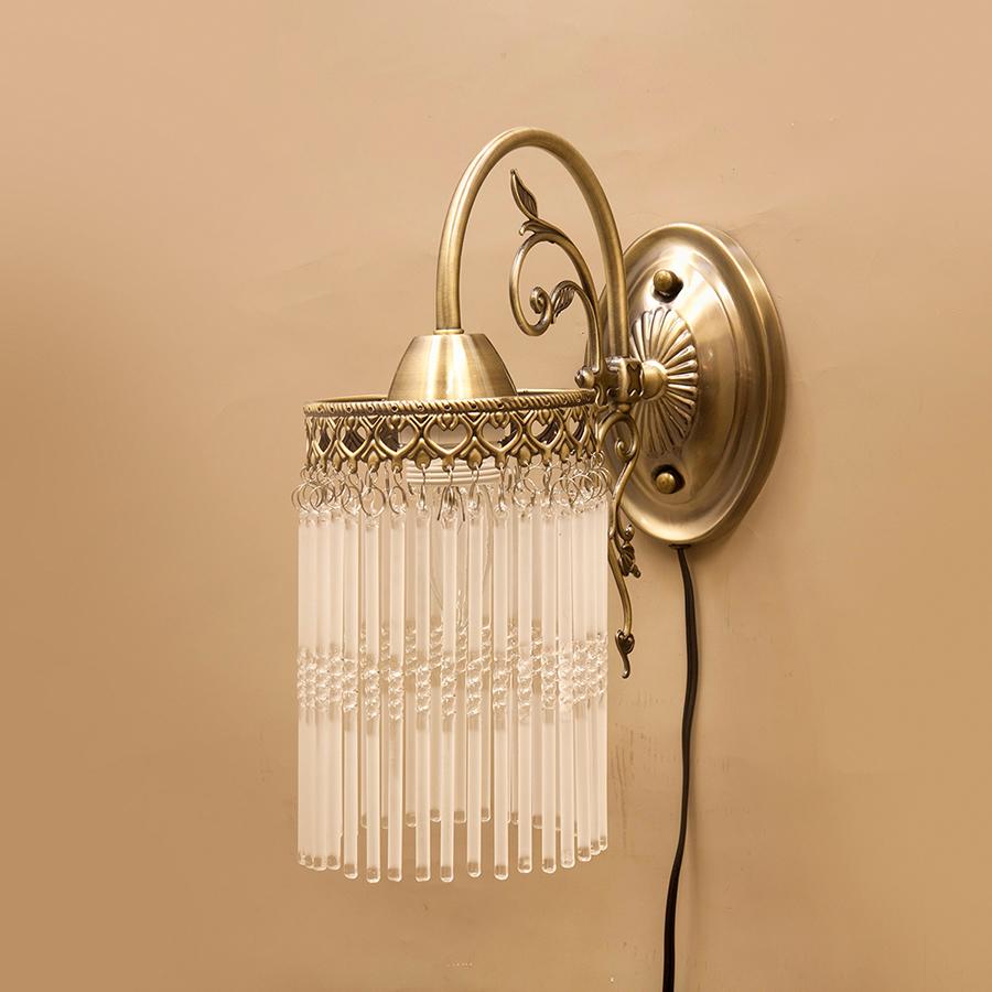 【LED電球対応】E26/水雷型★クラシカルウォールランプ 【1灯】アンナマリア★