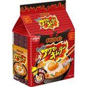 【ケース売り】チキンラーメン 具付き3食パック アクマのキムラー