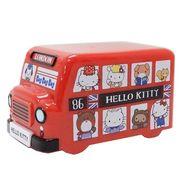 【お弁当箱・シール容器】ハローキティ/バス型2段ランチボックス/LONDON BUS