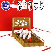 ■湘南インターナショナル■■2019SS 新作■ 【3Dカード】 ボーリング
